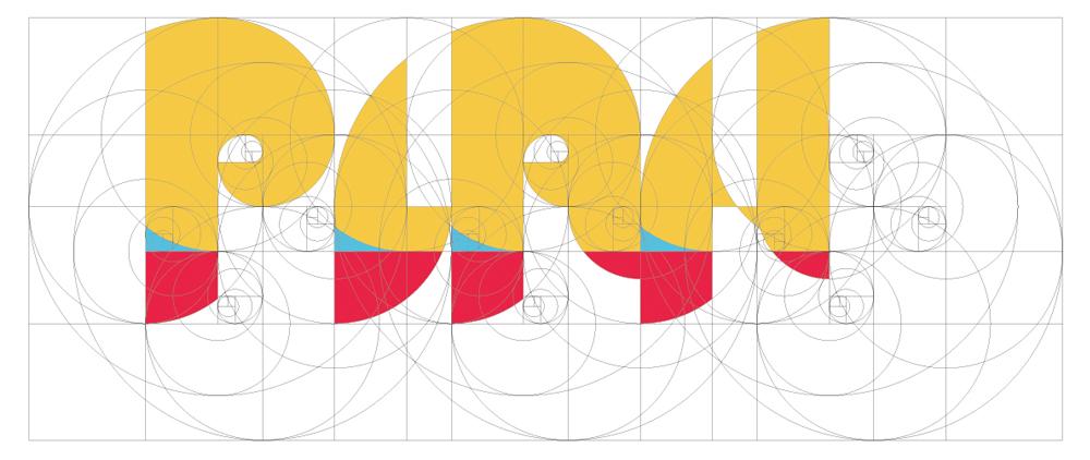 株式会社PLAN ロゴ設計図