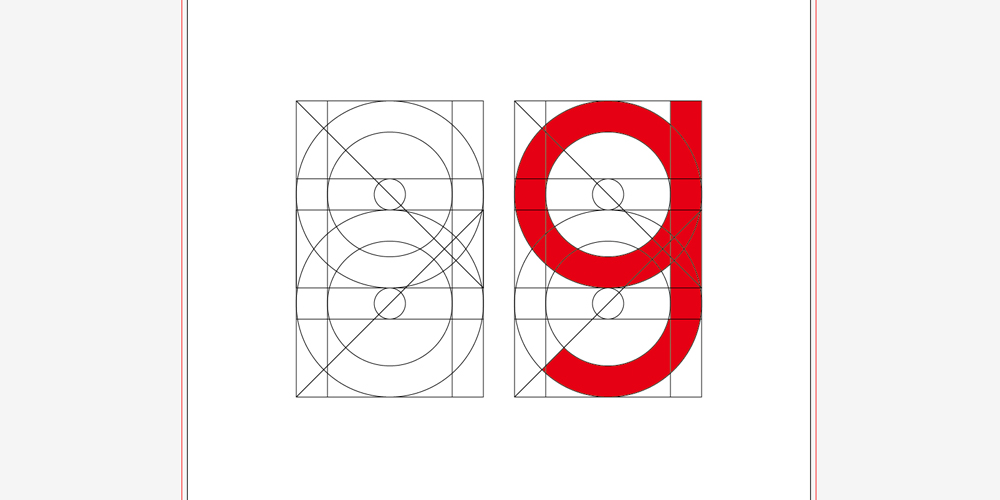 gのフォント設計図