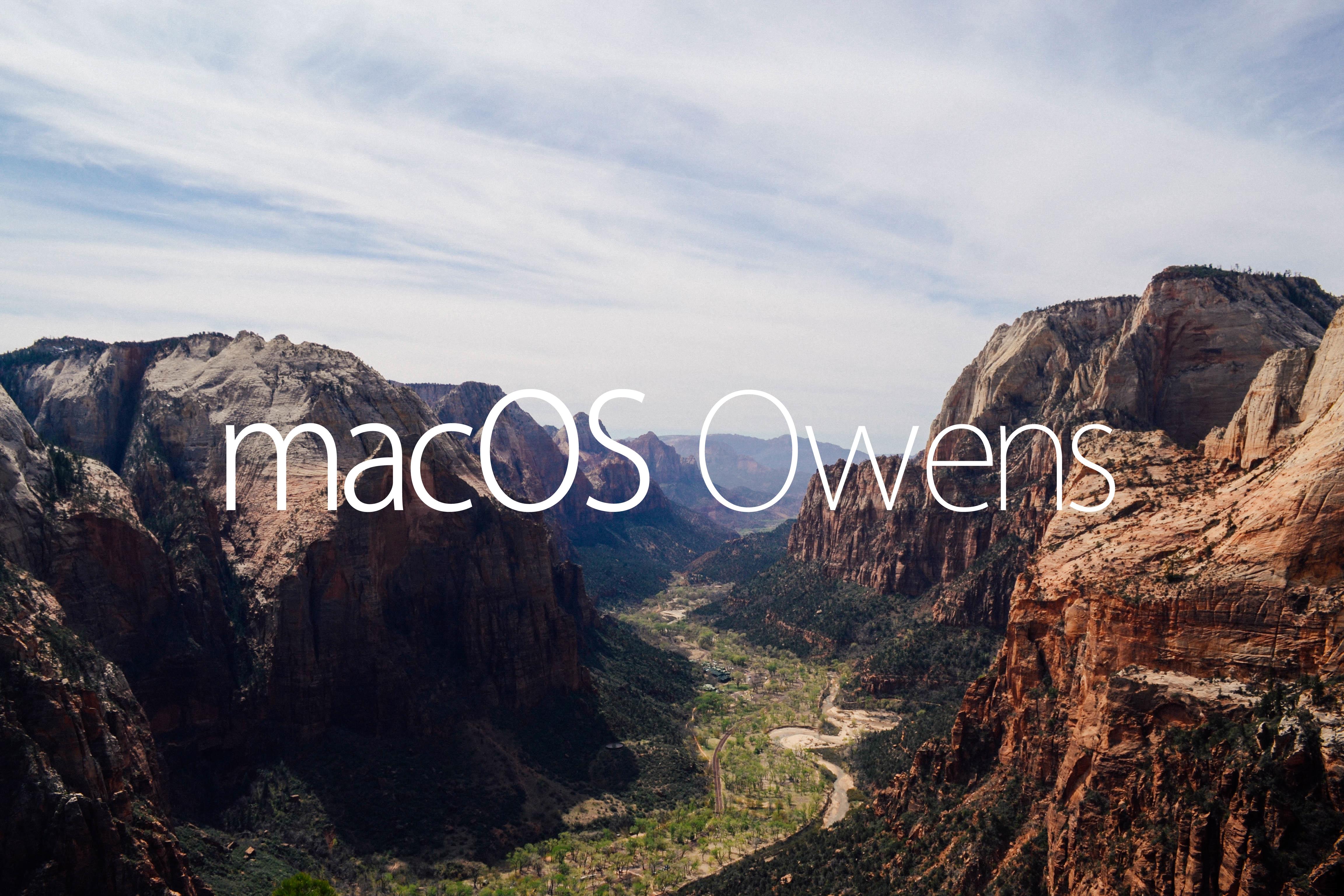 mac OS Owens