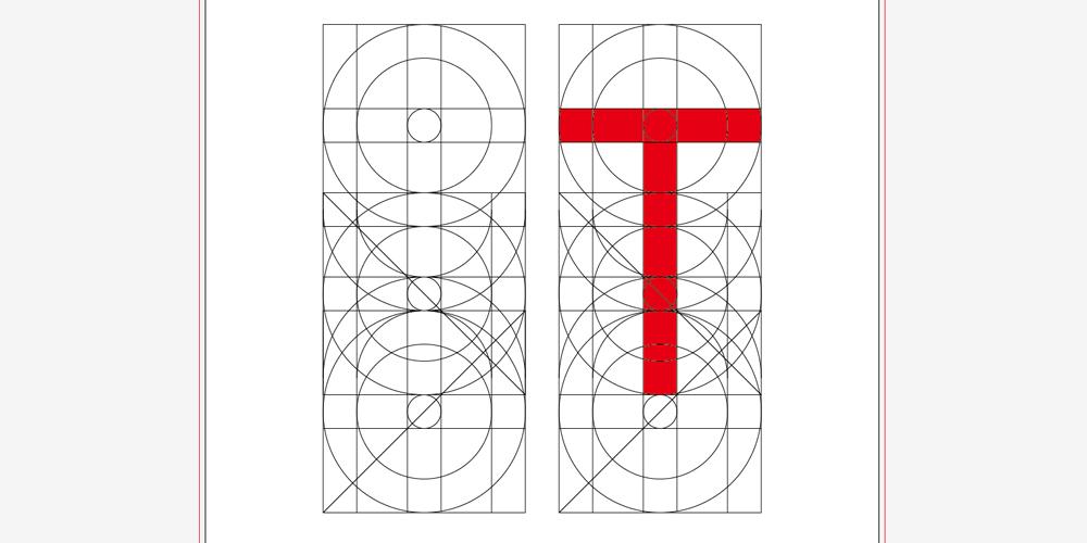 Tのフォント設計図