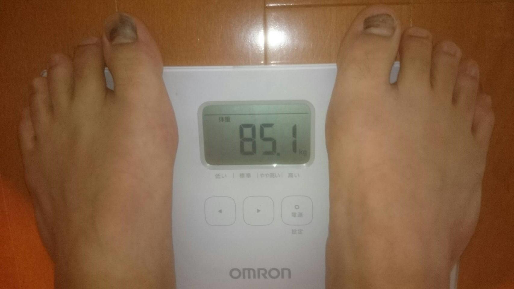 chickenスタート体重と目標体重