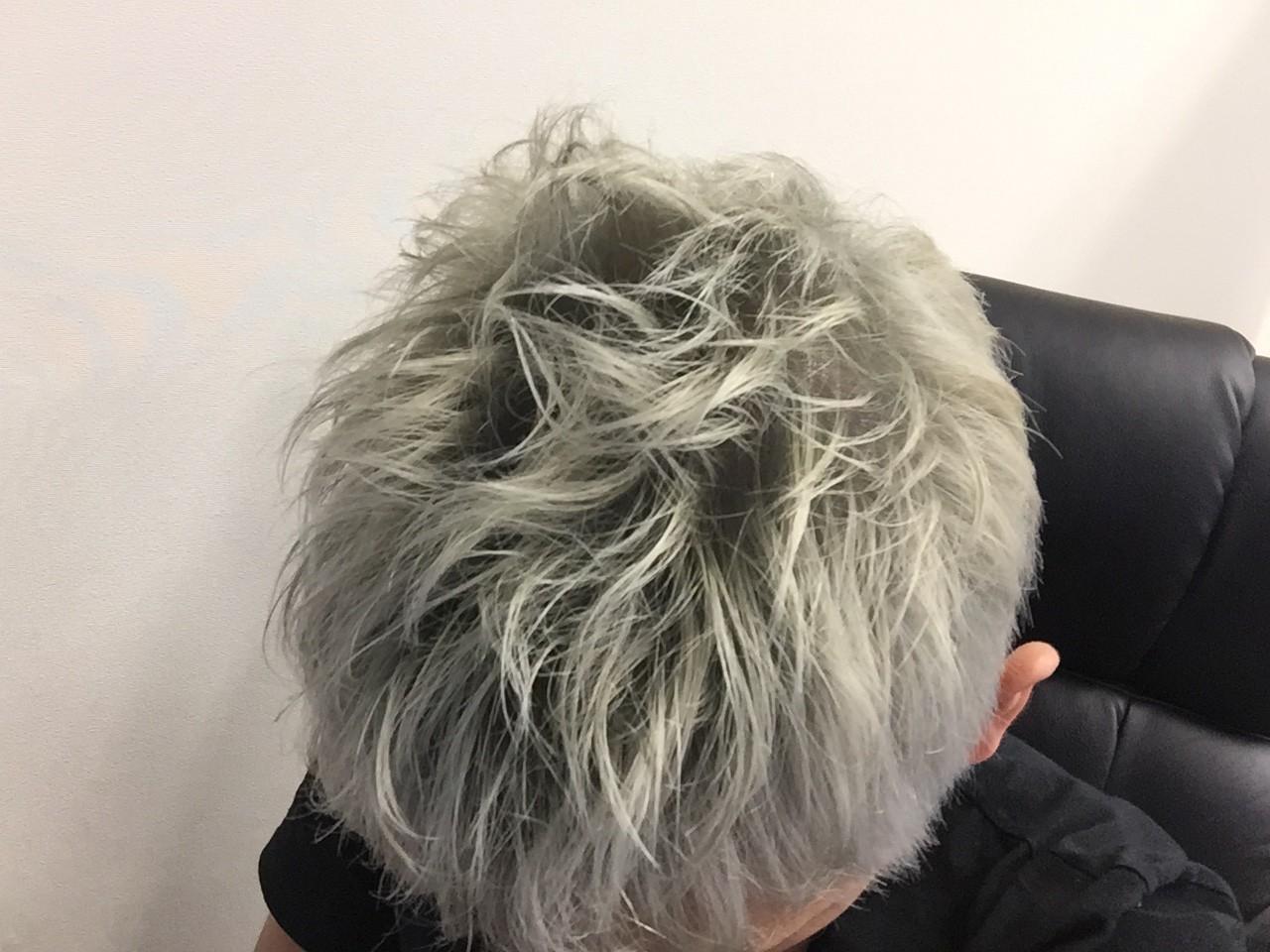 キレイな銀髪に染めるための正しい方法