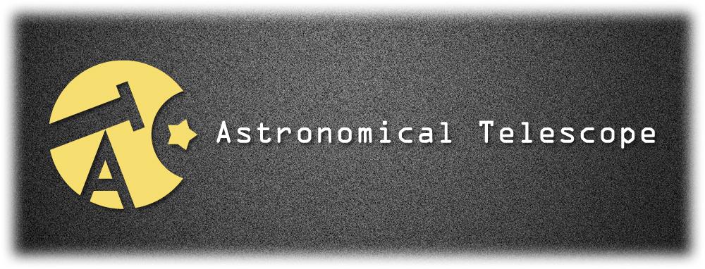 天体望遠鏡のロゴ