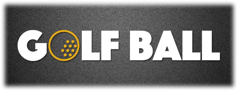 ゴルフボールのロゴ