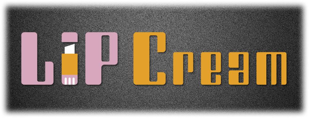 リップクリームのロゴ