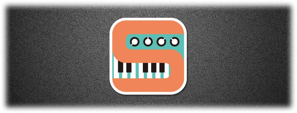 シンセサイザーのロゴ