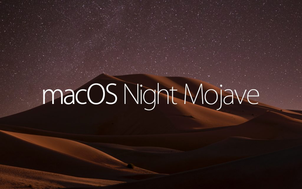 macOS Night  Mojave
