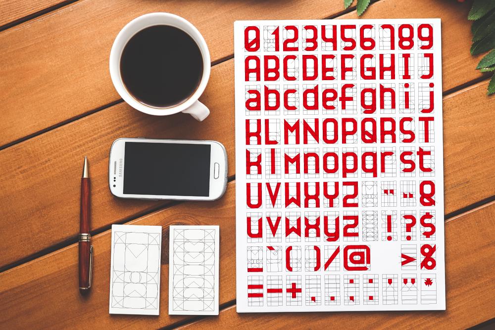 フォントの作り方
