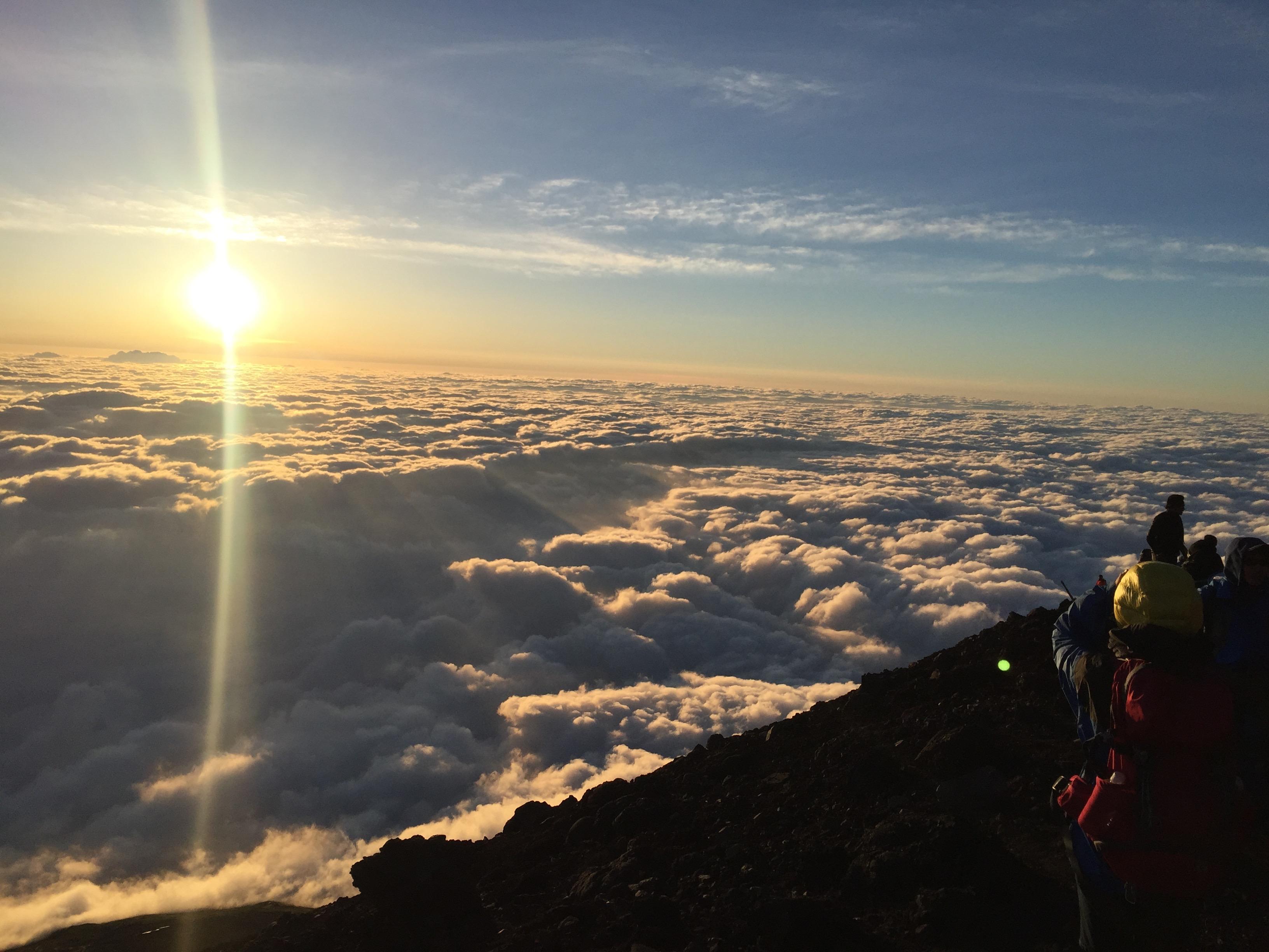 富士登山で高山病にならないために