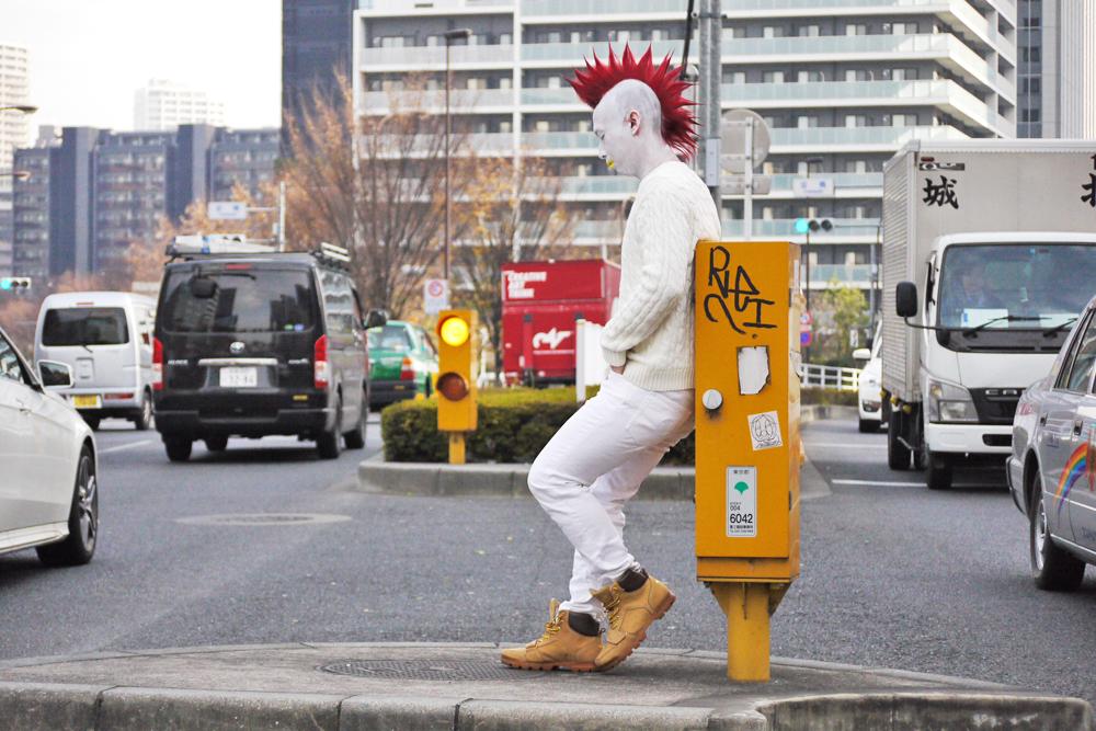 鶏になった谷口勇太