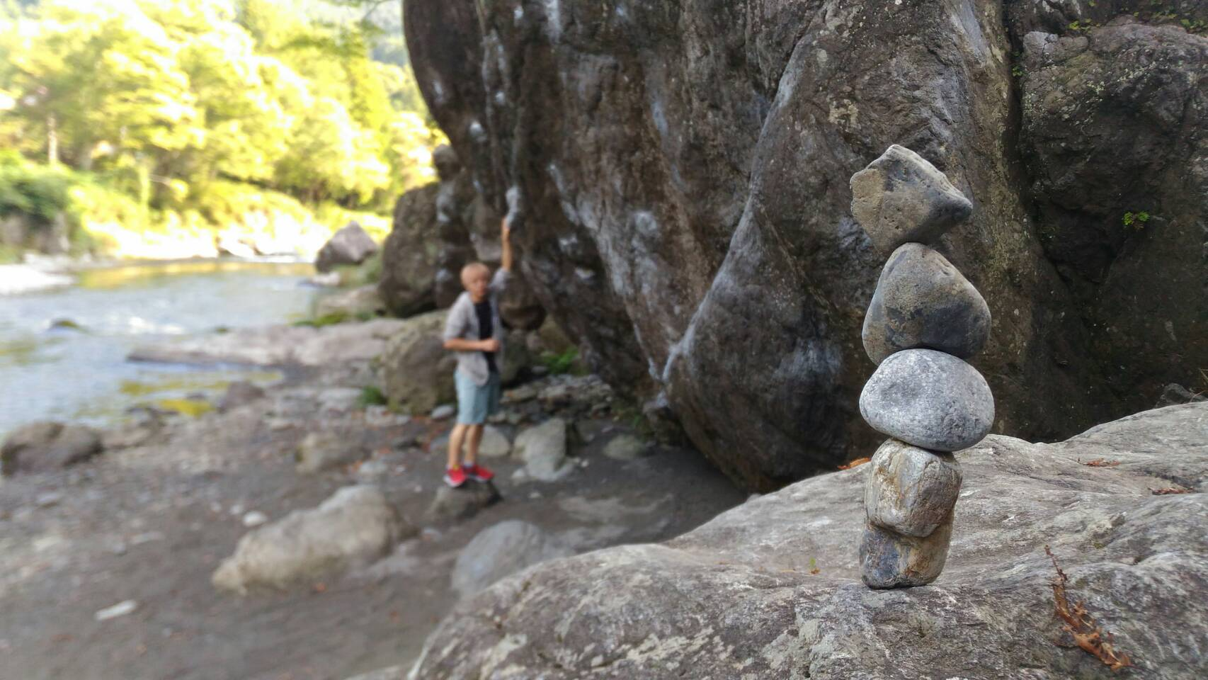 御岳エリア、マミ岩