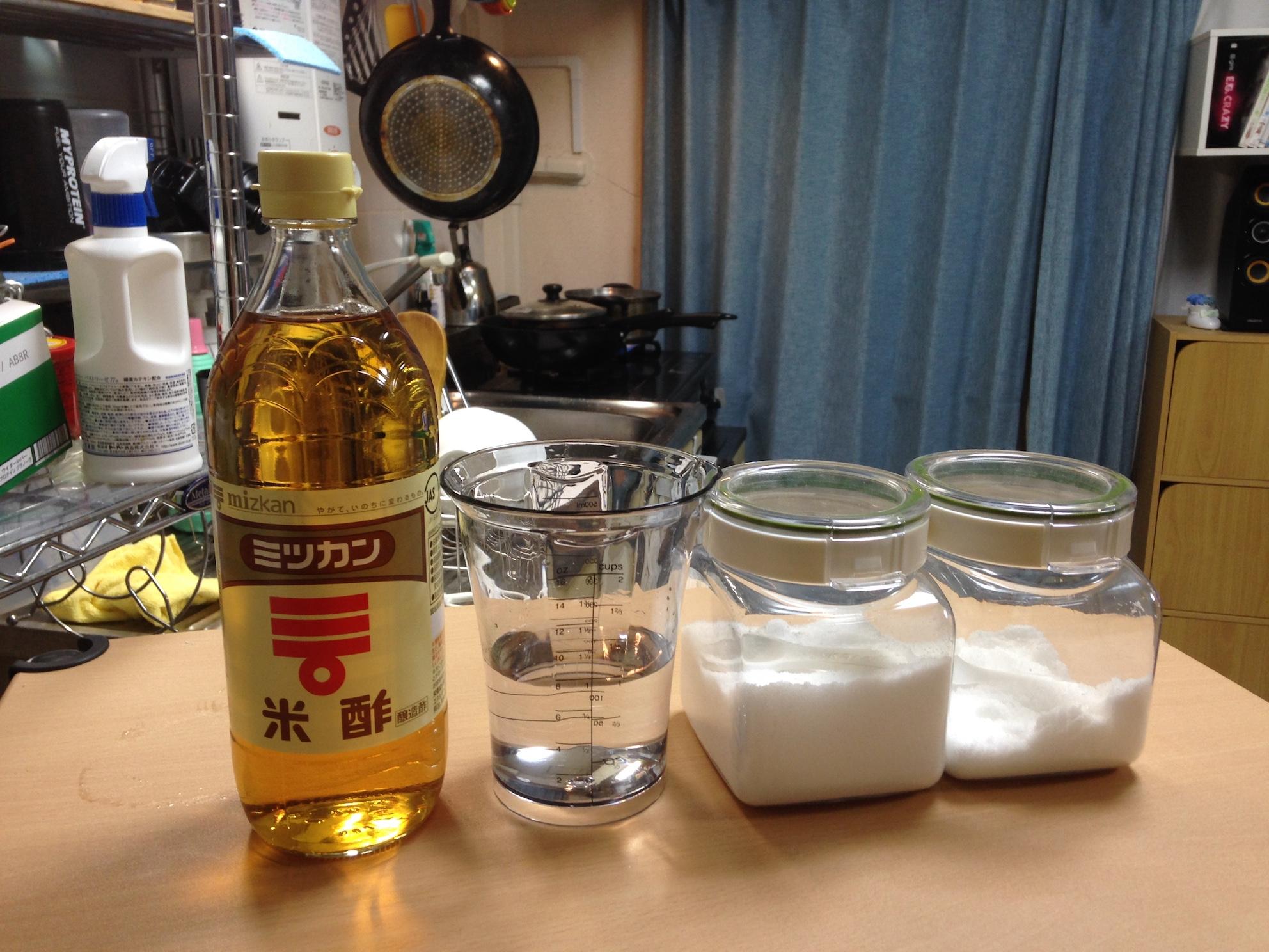 ピクルス液の材料