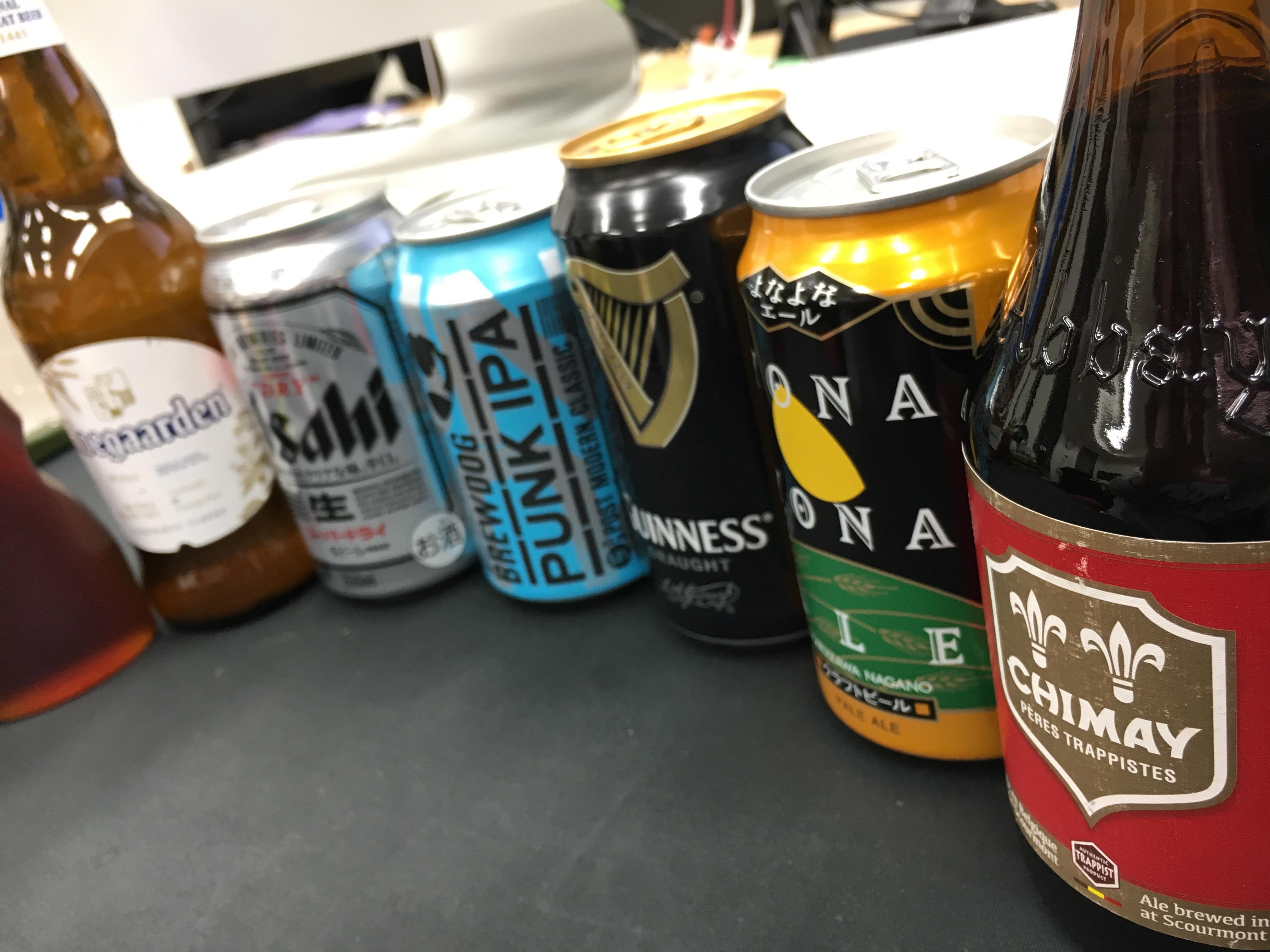 ホットビール