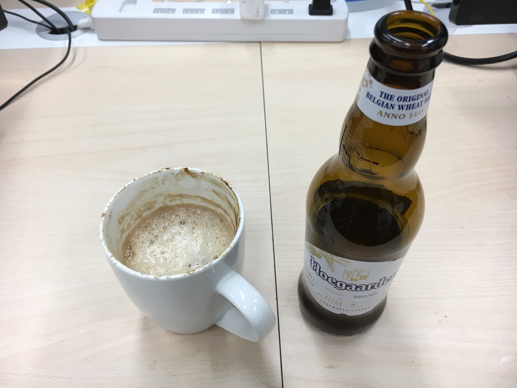 ホワイトビールを使ったホットビール
