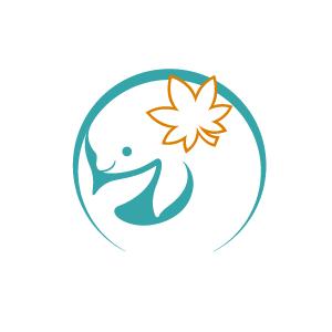 宮島水族館のロゴ