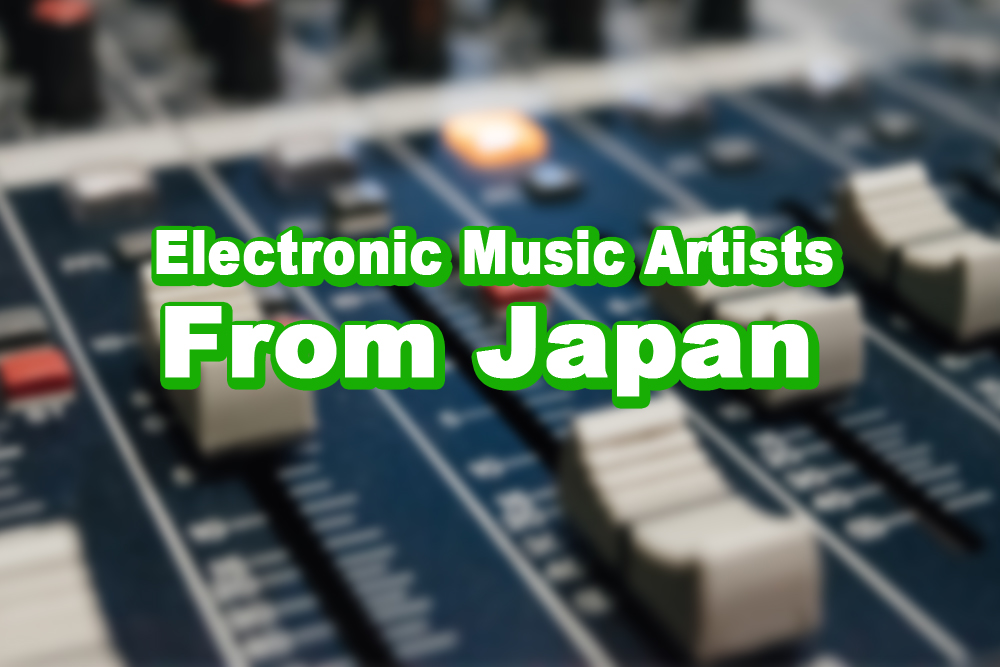electronic music artists from Japan