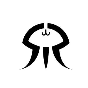 加茂水族館のロゴ