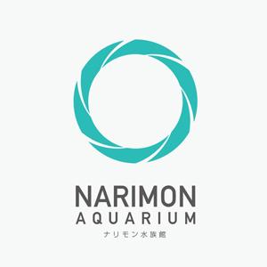 ナリモン水族館のロゴ
