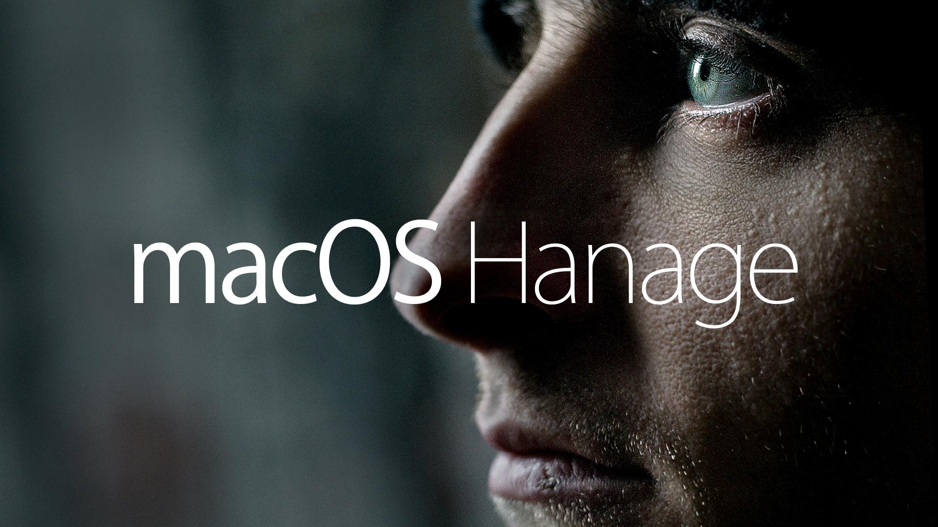Mac OS Hanage