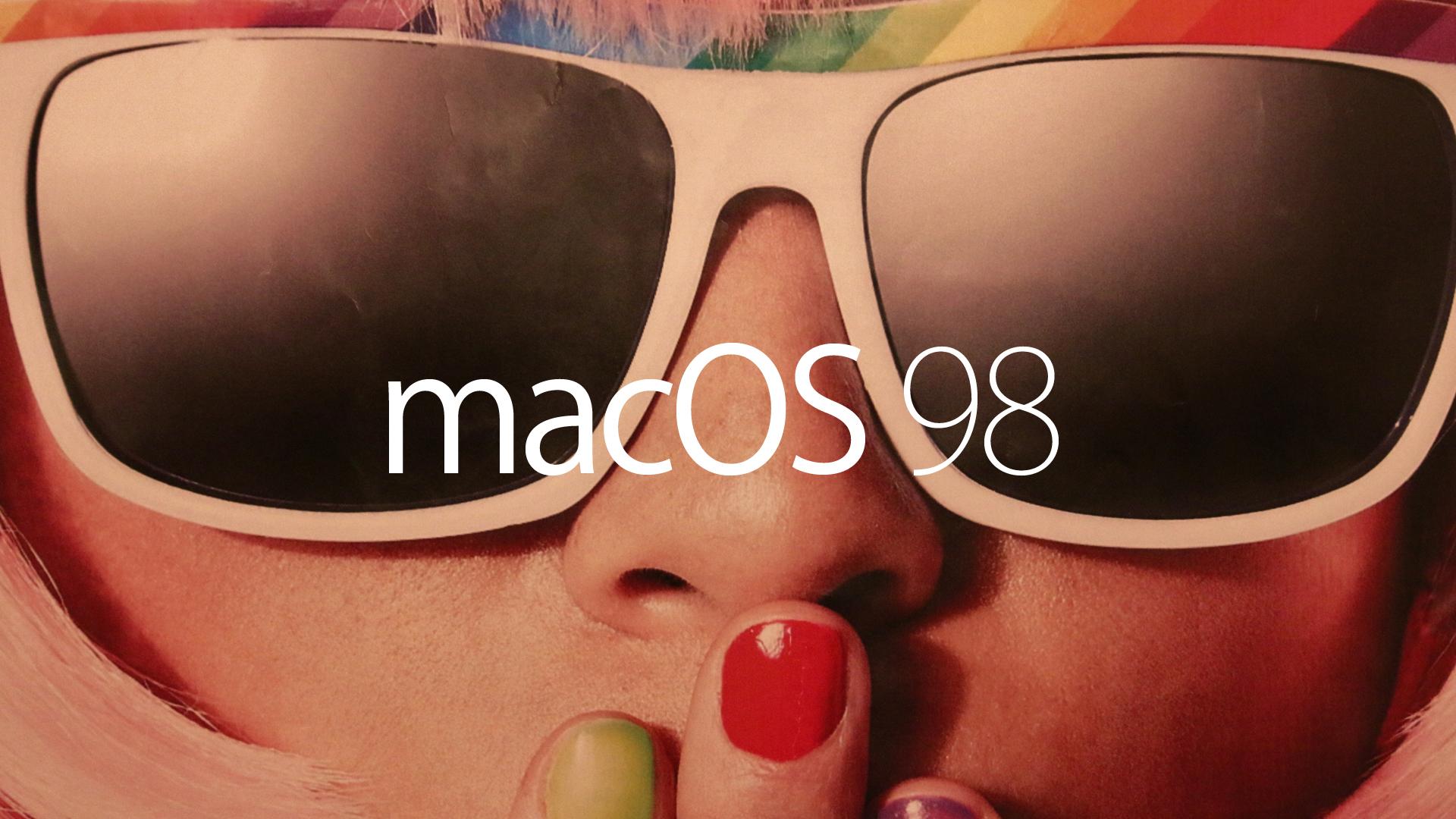 Mac OS 98