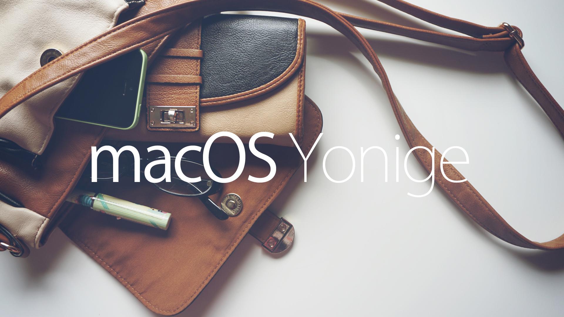 Mac OS Yonige