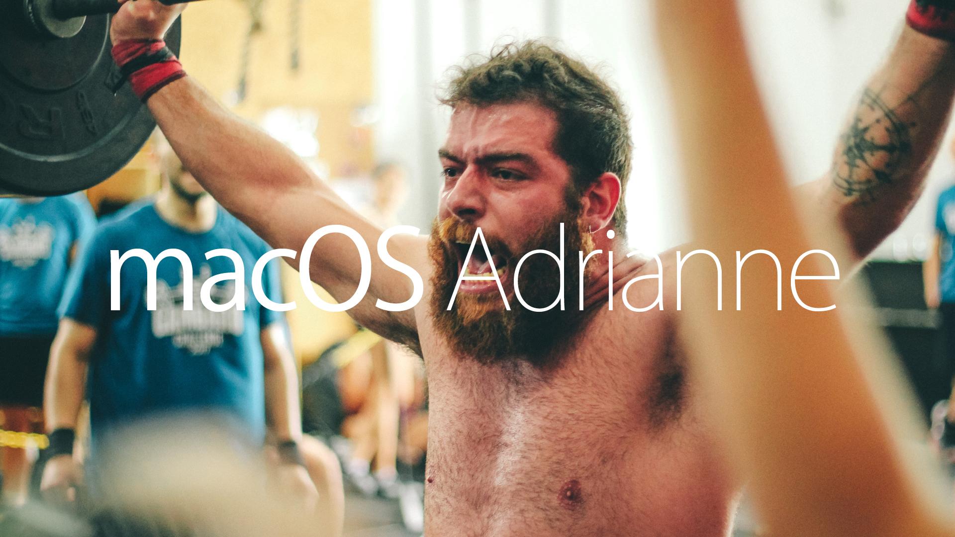Mac OS Adrianne