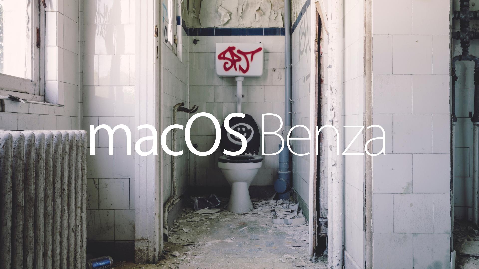 Mac OS Benza