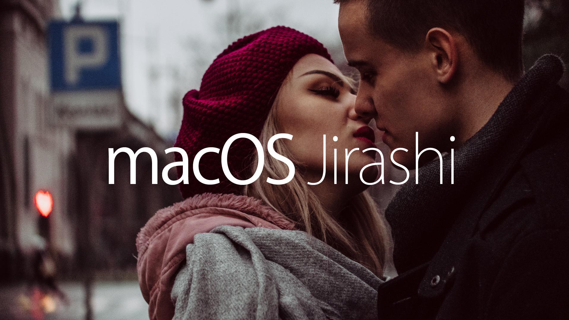 Mac OS Jirashi