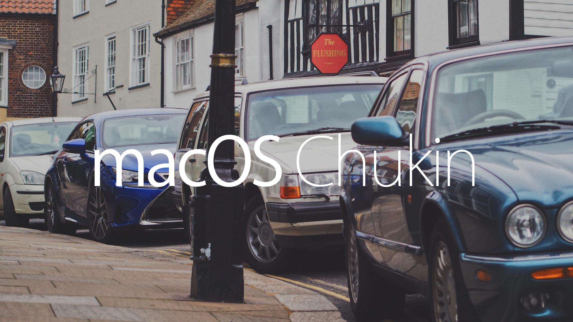 Mac OS chukin