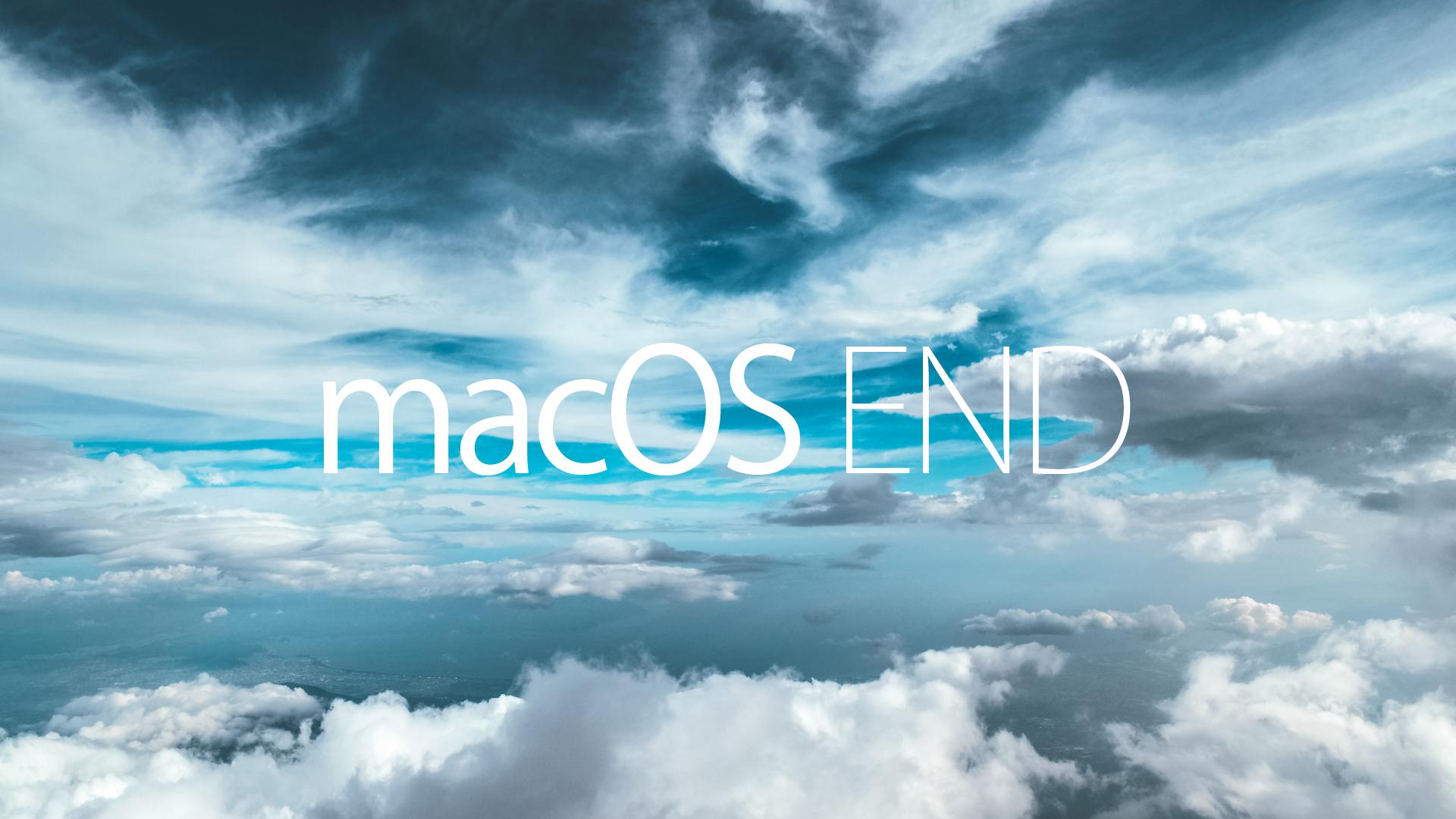 Mac OS END