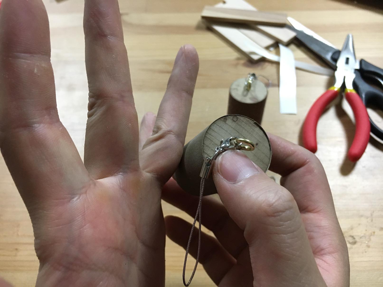 指皮用ヤスリ 円筒型