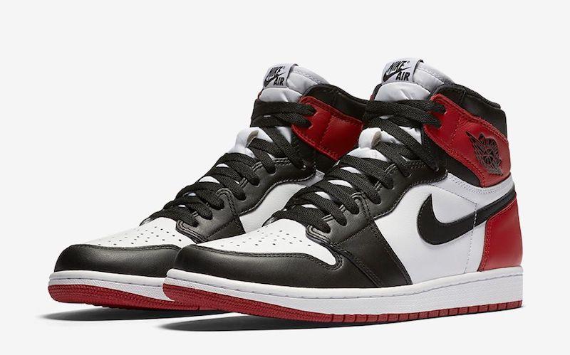 Air Jordan 1 brack toe