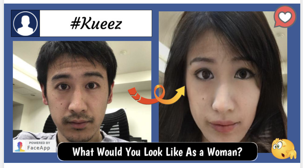 what would you look like as the opposite gender