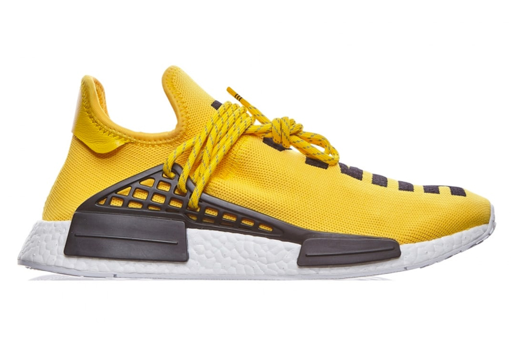 "adidas Originals × Pharrell Williams 'HU Human Race'  NMD  ""EQT YELLOW"""
