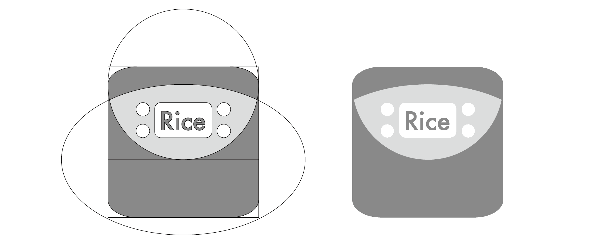 LOGO No.4 / rice cooker