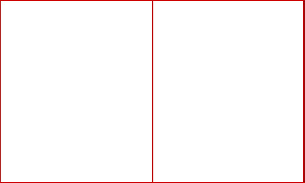 二分割構図