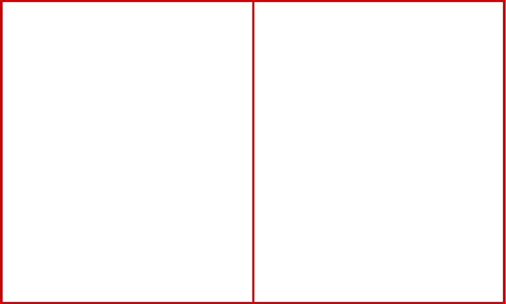 シンメトリー構図