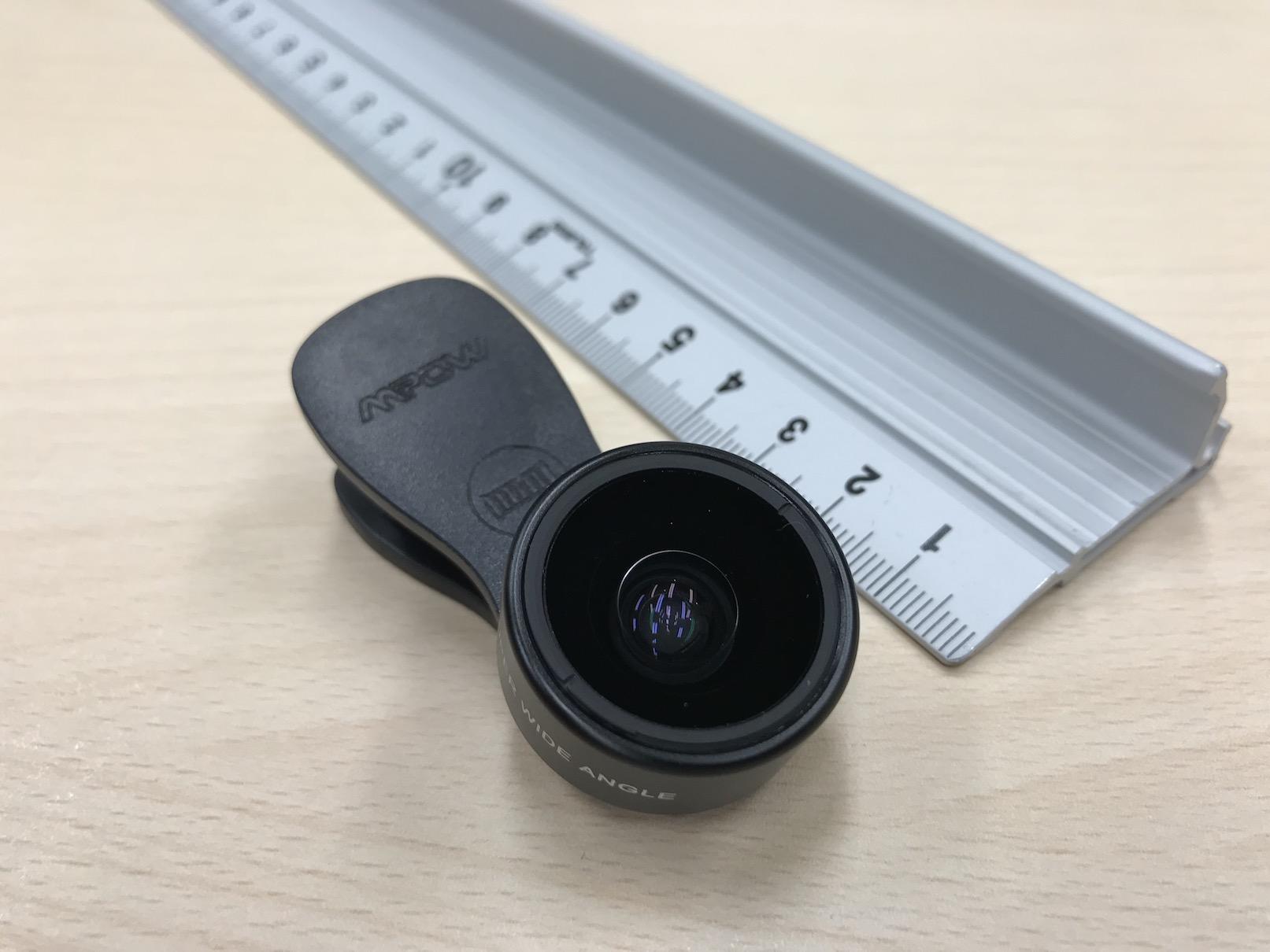 MPOWMFE4の広角レンズ