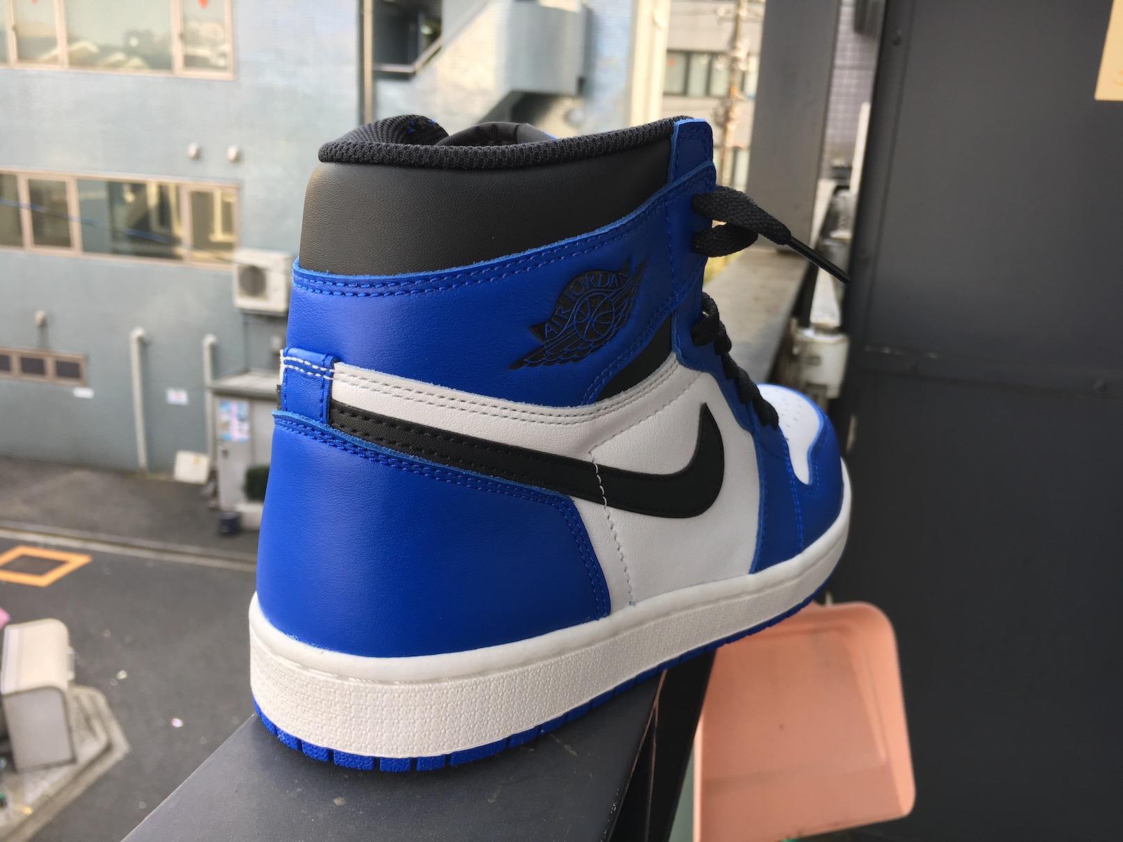 """Nike Air Jordan 1 Retro High OG """"GAME ROYAL""""(ナイキ エアジョーダン1ゲームロイヤル)"""
