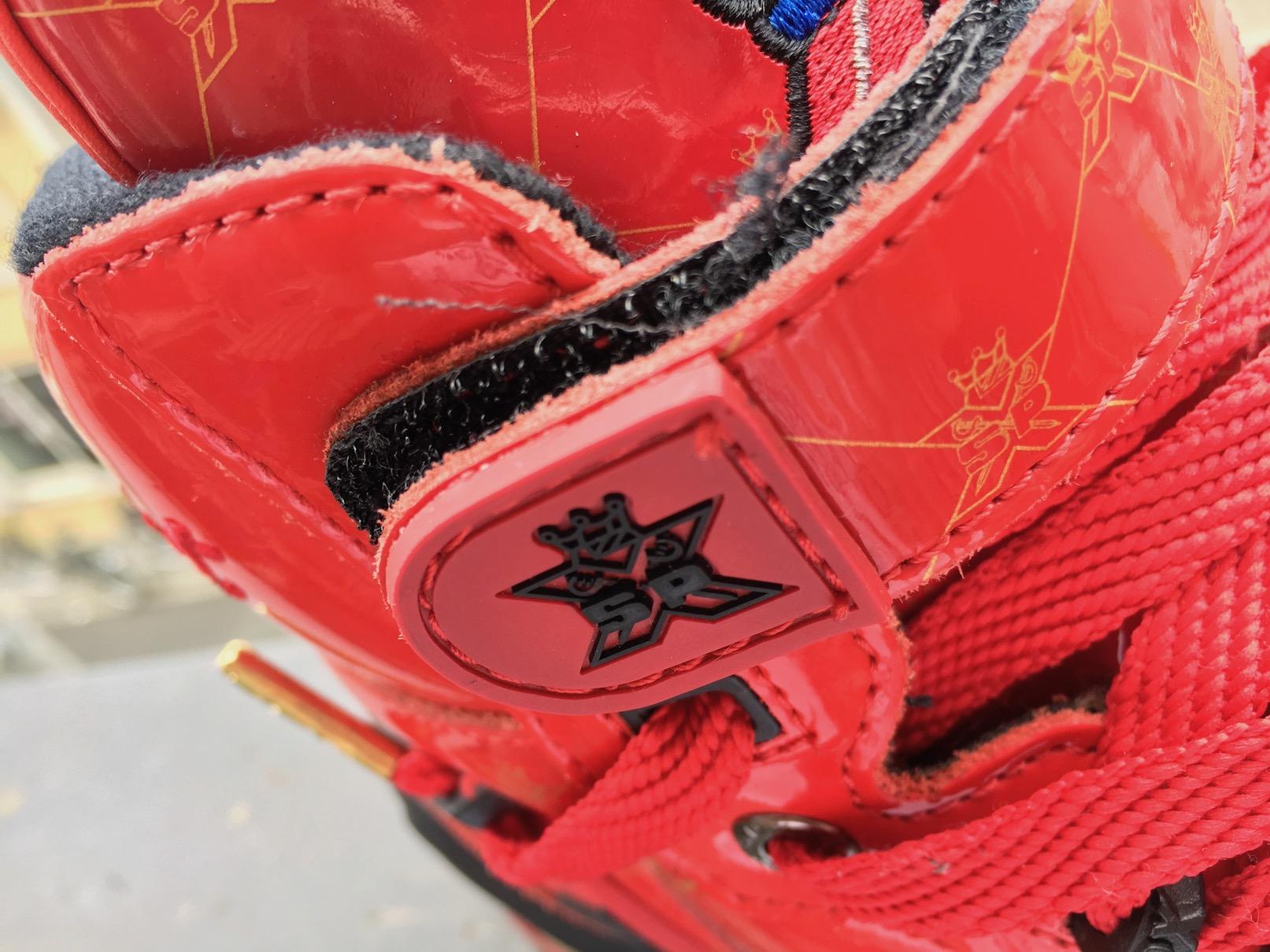 "SPX Street Slam Hi ""Red Patent""(エス・ピー・エックス ストリートスラム ハイ""レッドパテント"")"