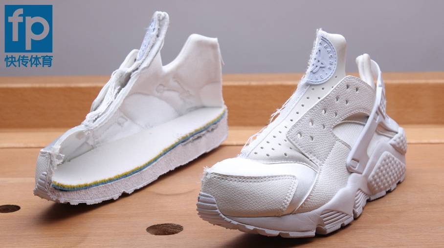 AIR HUARACHE RUNの断面図