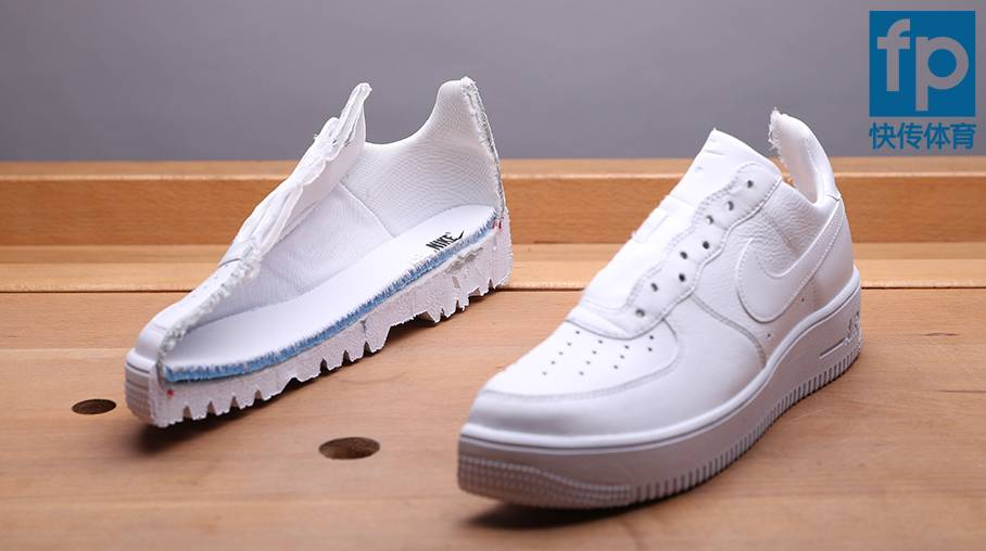AIR FORCE 1 ULTRAFORCE LTHRの断面図