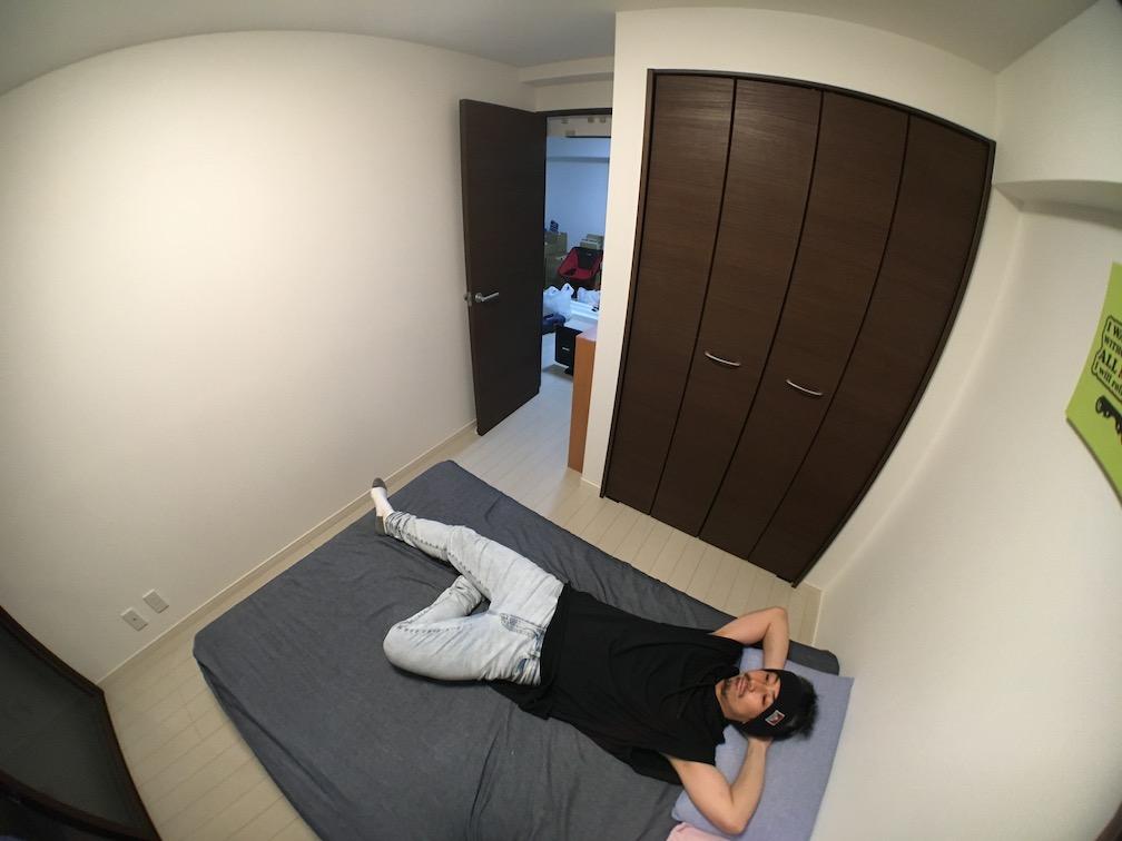 普段の寝室