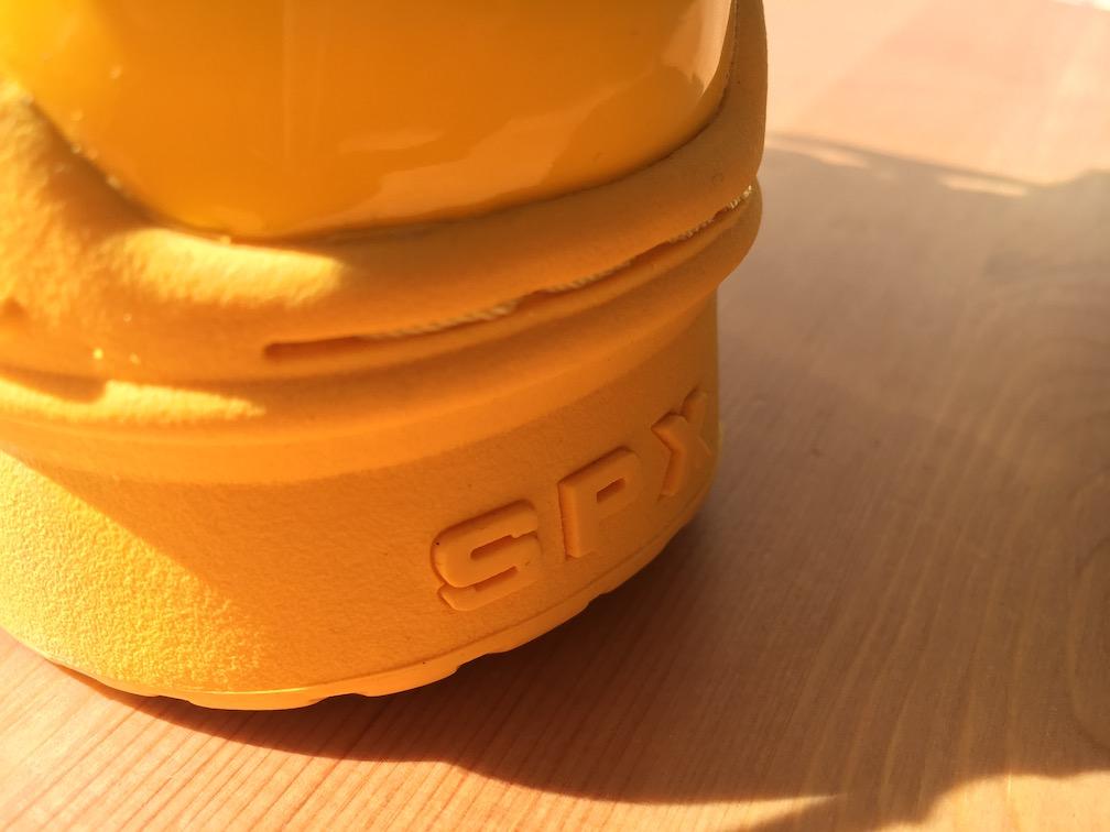 "SPX Street Slam Hi ""KICKS LAB. Yellow Patent""(エス・ピー・エックス ストリートスラム ハイ""キックスラボ イエローパテント"")"