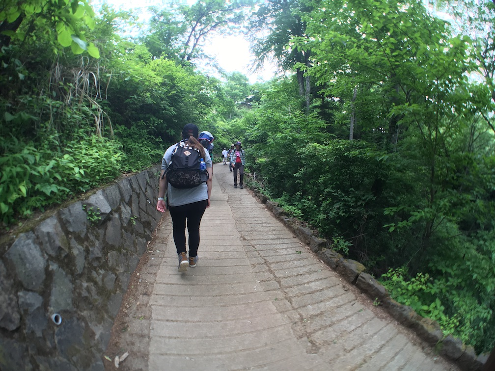 高尾山 6号路 飛び石コース