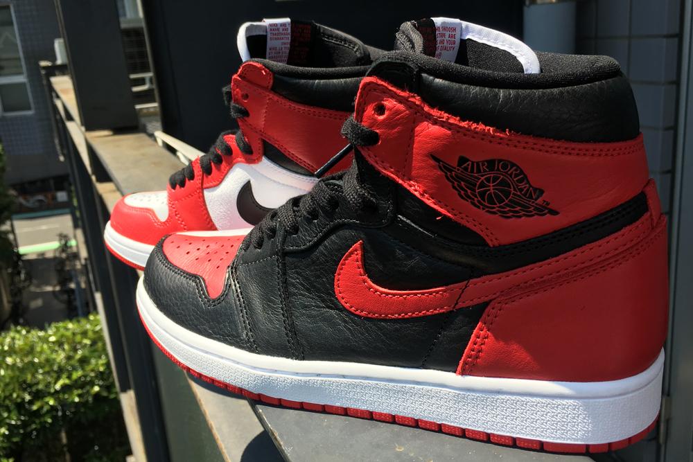 """Nike Air Jordan 1 Retro High OG """"HOMAGE TO HOME""""(ナイキ エアジョーダン1 オマージュトゥホーム)"""